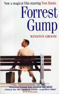 Forrest Gump (the book that inspired the movie) Kindle Edtion - 99p