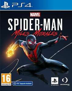Marvel's Spider-Man: Miles Morales (PS4 - with free next gen upgrade) £42.39 Delivered using code @ Boss Deals via ebay