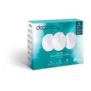 TP-LINK Deco M5 Whole Home WiFi System - Triple Pack £143.99 with code POPUPOCT20 at Hughes/ebay