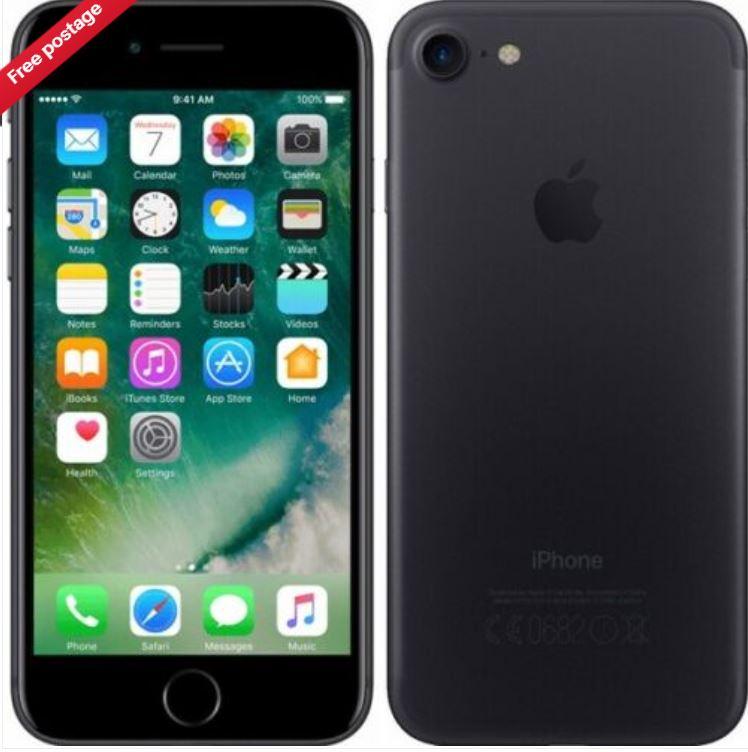 Apple MN8X2B/A iPhone 7 4G Smart Phone 32GB Unlocked Sim-Free 1YR - Black A £150.90 at cheapest_electrical ebay