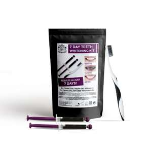7 Day Teeth Whitening Treatment Kit - £3.95 Delivery @ Cougar Beauty