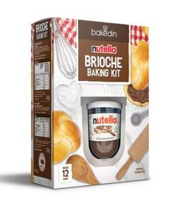 Brioche Baking Kit with Nutella £8 + £2.99 delivery@ Bakedin