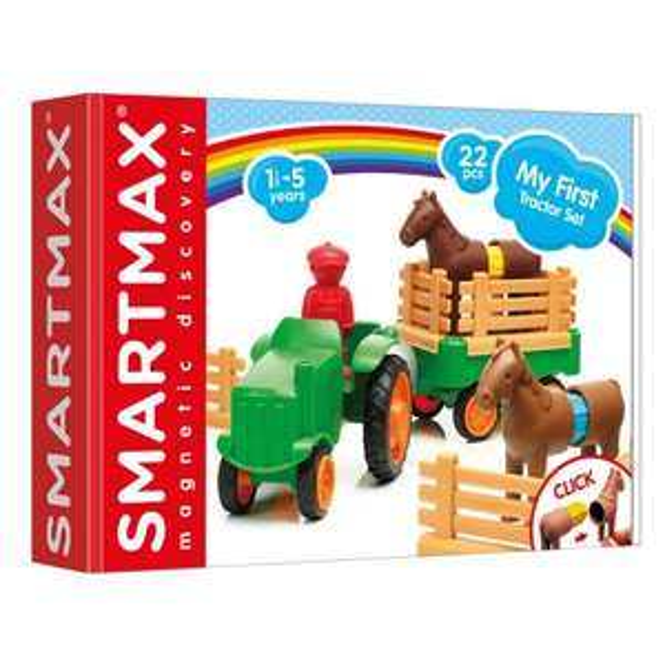 SmartMax My First Tractor Set £9.99 + £3.95 del at Crafty Arts