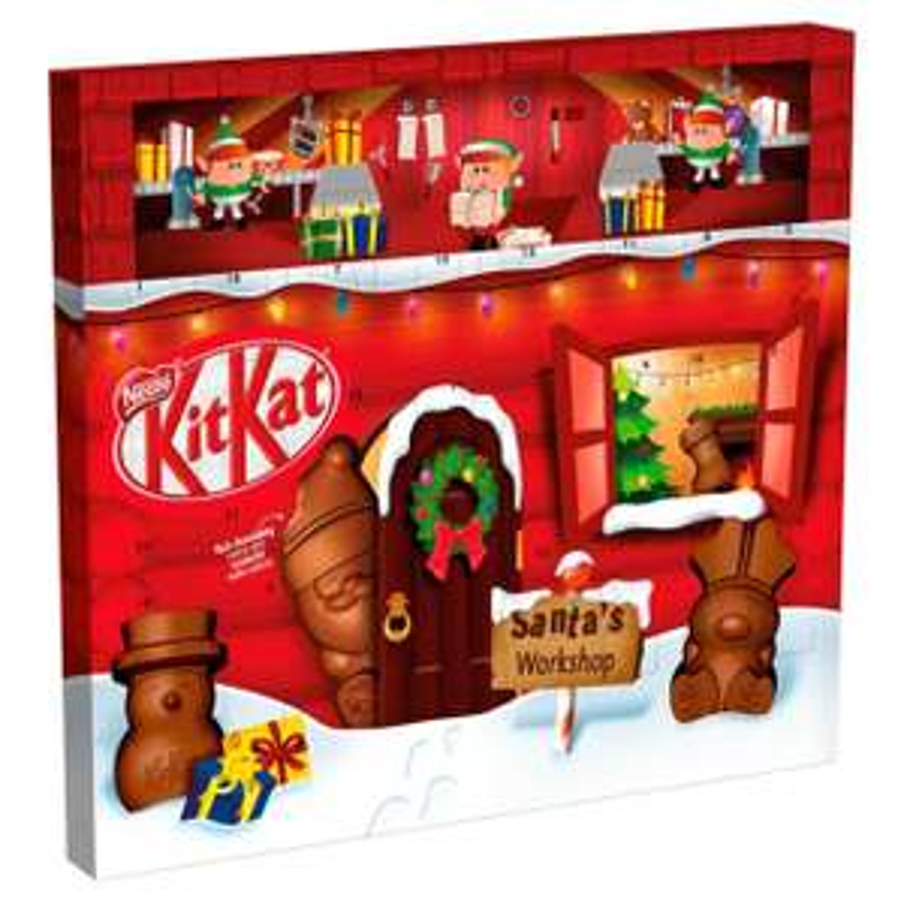 Nestle Kitkat Santa Milk Chocolate Advent Calendar 195g - £3.00 @ Tesco