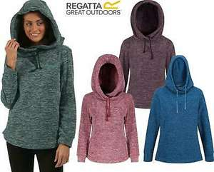 2 x Regatta Womens Kizmit Hooded Marl Fleece Top 2 for £22.78 (£11.39 each) Delivered (With Code) @ Warwickshire Clothing / eBay