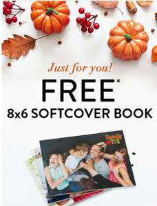 """Free 8""""x6"""" Landscape Softcover Photo Book (A5) with code - Just pay £2.99 postage @ Snapfish"""