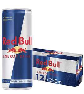 Red Bull Energy Drink 12 Pack of 250 ml - £9 (+£4.49 Non Prime) @ Amazon