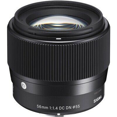 Sigma 56mm f/1.4 DC DN Lens for Canon EOS M/MFT - 3Y Warranty - £263.20 @ebay