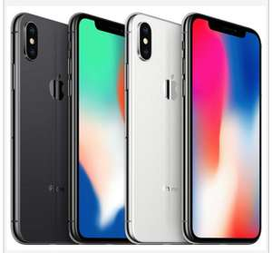Apple IPhone X 64GB Refurbished Good Grade A Excellent Condition Unlocked Smartphone - £299.96 @ Gecko Mobile / Ebay