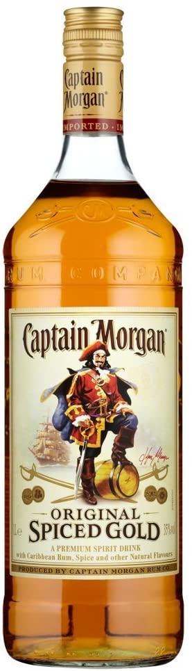 Captain Morgan Original Spiced Gold 1 Litre | Bacardi Spiced Rum 1L £16 (With Clubcard) @ Tesco