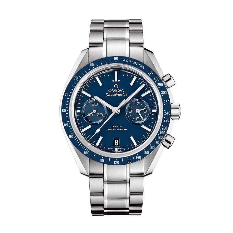 Omega Speedmaster Moonwatch Men's Titanium Bracelet Watch £5100 with code @ Ernest Jones