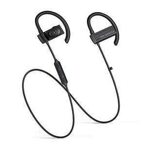 TaoTronics Wireless 5.0 Bluetooth Earphones with 30 Hours playtime £7.99 prime + £4.49 non prime @ Amazon / Sunvalleytek-UK