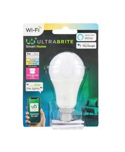 Ultra Brite Smart Home Bulb 60w - £2 instore only @ Poundland, Brighton