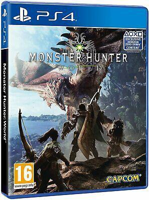 Monster Hunter world ps4 brand new £10.49 delivered at eBay uk-tech-spares