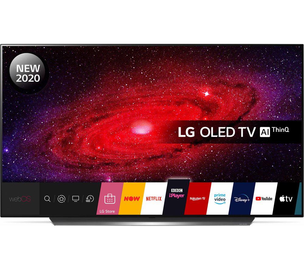"""LG OLED55CX6LA 55"""" Smart 4K Ultra HD HDR OLED TV + Free LG FN4 headphones using code - £1399 @ Currys PC World"""