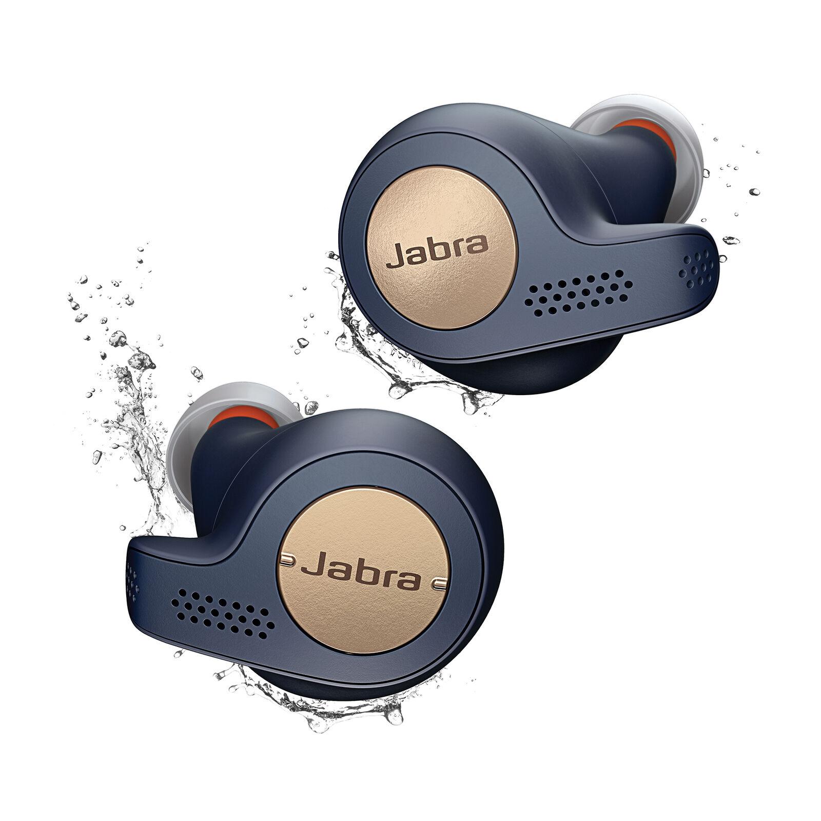 (Refurb - 2 year warranty) JABRA Elite Active 65t Wireless Bluetooth Headphones - £59.99 with code at jabra-company-store-uk/ebay