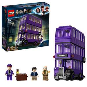 LEGO 75957 Harry Potter Knight Bus Toy, Triple-decker Collectible Set with Minifigures £27 @ Amazon