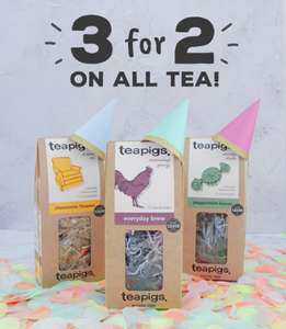 3 for 2 at Teapigs