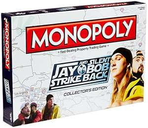 Monopoly Jay and Silent Bob Strike Back £12.99 delivered @ Amazon - Sold by Real Merch