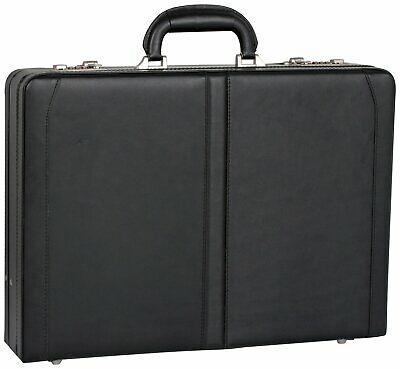 Go Explore Leather Briefcase - Black, £7.99 delivered at Argos/ebay