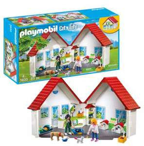 Playmobil 5633 Pet Shop Playset Now £20 with Free Click and collect From Argos