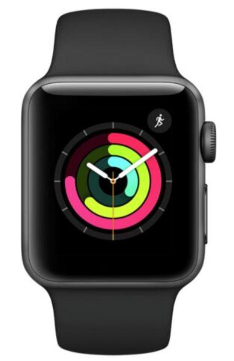 Apple Watch S3 42mm 8GB GPS WiFi Smat Watch - Space Grey Aluminium £172.99 at Argos ebay