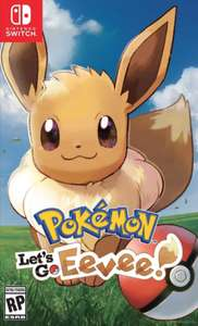 Pokemon Lets Go Eevee on Switch only £22.50 in ASDA Tilbury