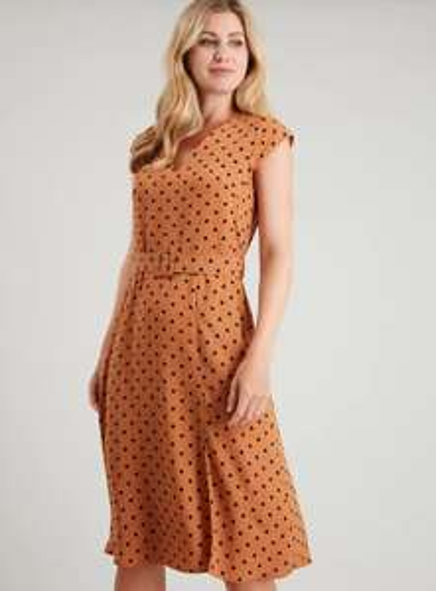 Ladies Tu polka dot dress reduced to £7.50 online at Sainsbury's Tu Clothing