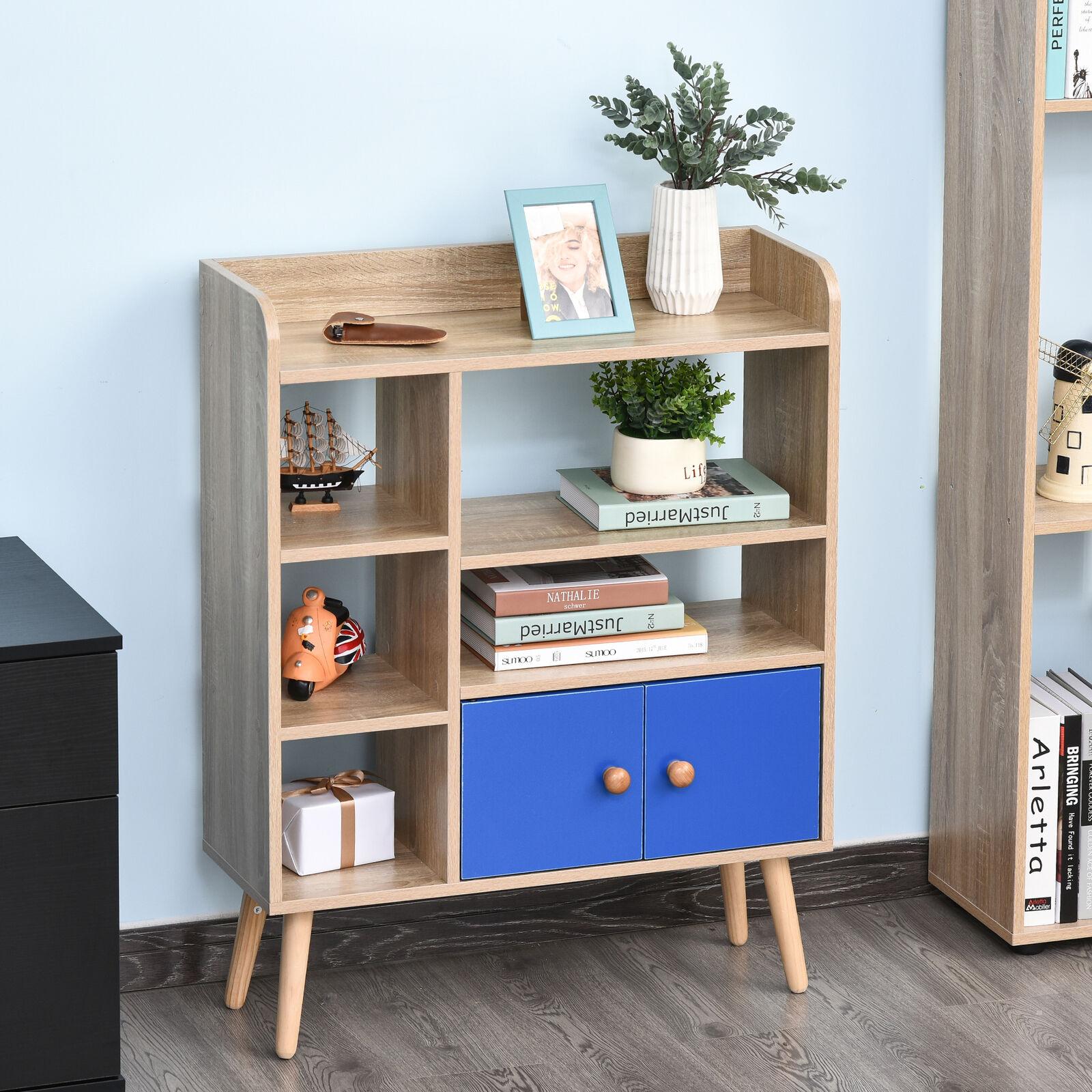 Multi-Shelf Bookcase Freestanding Storage Cabinet With Wood Legs - £21.59 / Drawer Version £20.79 Using code @ eBay / mhstarukltd