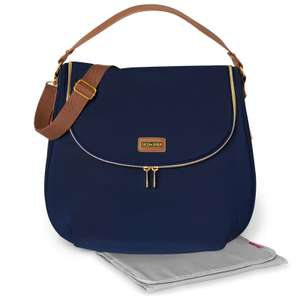 Skip Hop Curve Well Rounded changing tote bag in navy blue for £19.95 delivered @ Online4Baby