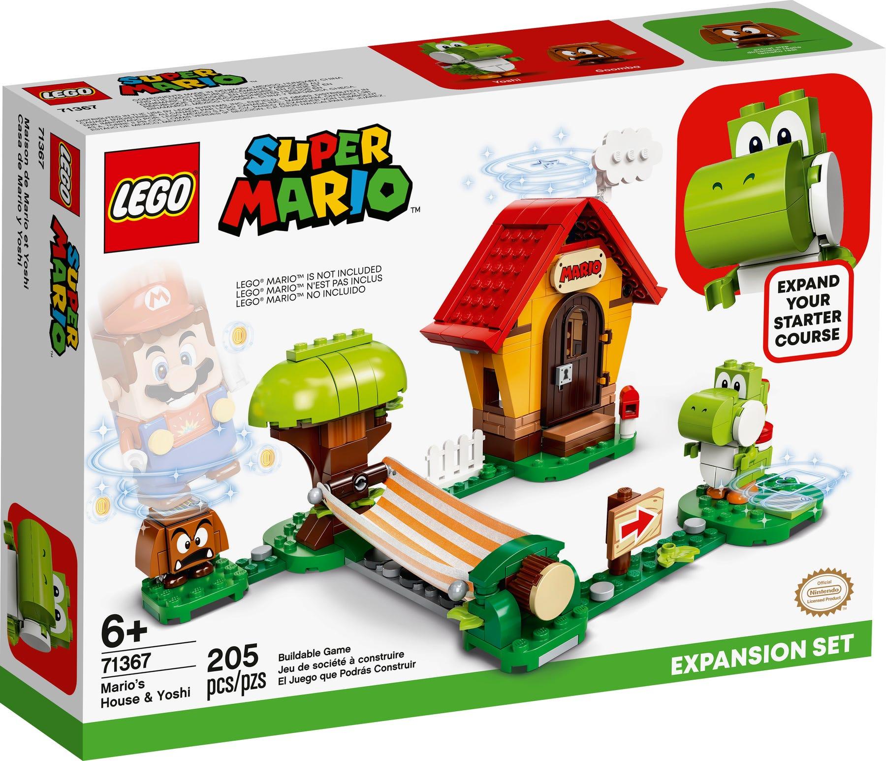 Mario Lego sets £20 @ B&M (Castleford) - E.G Mario's House & Yoshi Expansion Set