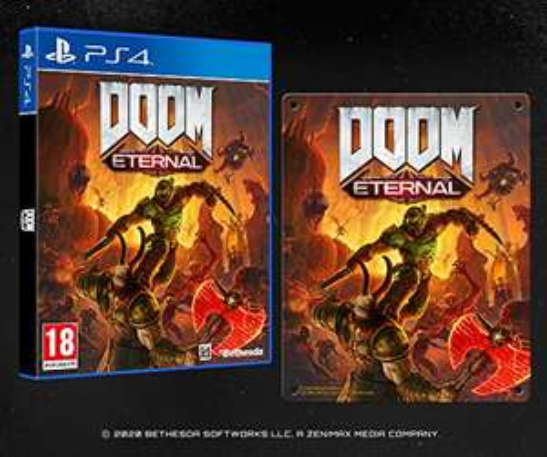 DOOM Eternal with Steel Poster (Exclusive to Amazon.co.uk) (PS4 & Xbox) £19.99 (Prime) + £2.99 (non Prime) at Amazon