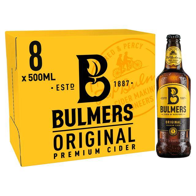 8 bottles of 500ml Bulmers original for £6 @ Aldi (Wetherby)