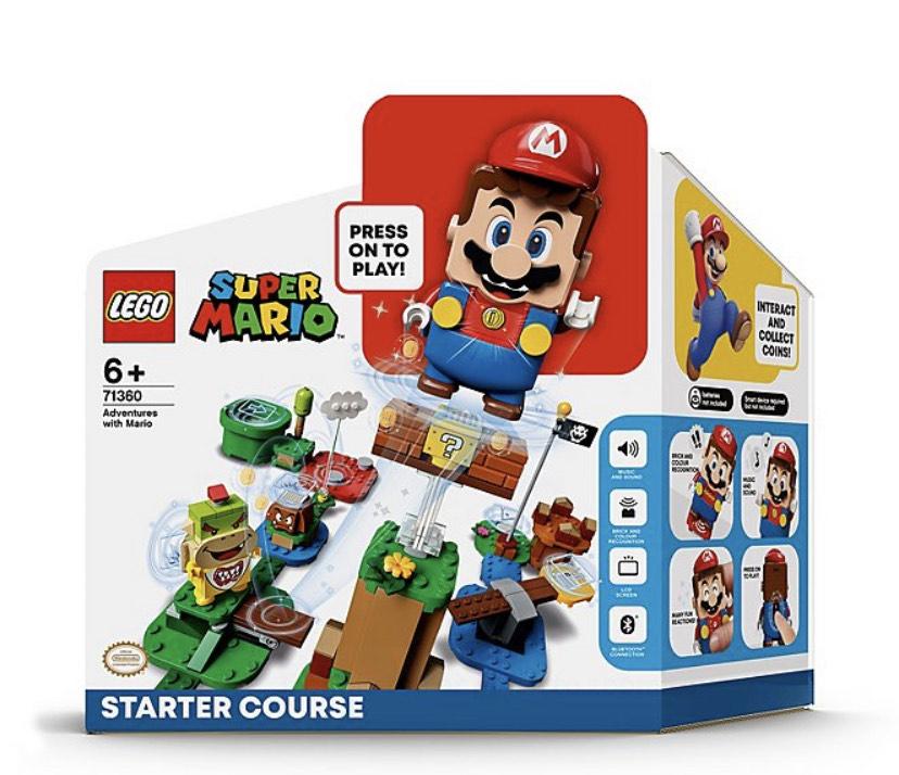 Mario Lego starter set ASDA - £38