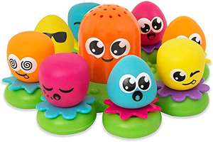 TOMY Toomies Octopals Number Sorting Baby Bath Toy - £7.98 (+£4.49 Non prime) @ Amazon