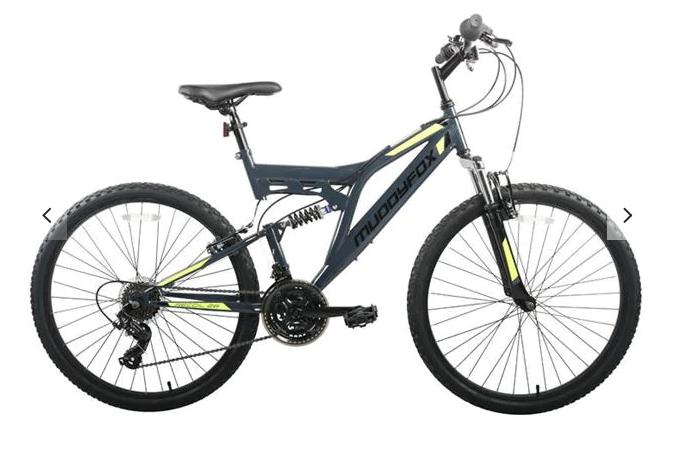 Muddy fox - Recoil26 Mens Grey/Lime £149 @ Evans cycles