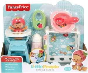 Fisher-Price Little People Babies Snack & Snooze Playset £9 (Free Click & Collect) @ Argos