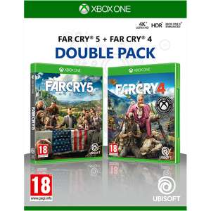 Far Cry 5/Far Cry 4 Double Pack Xbox One £12.49 free click and reserve at GAME
