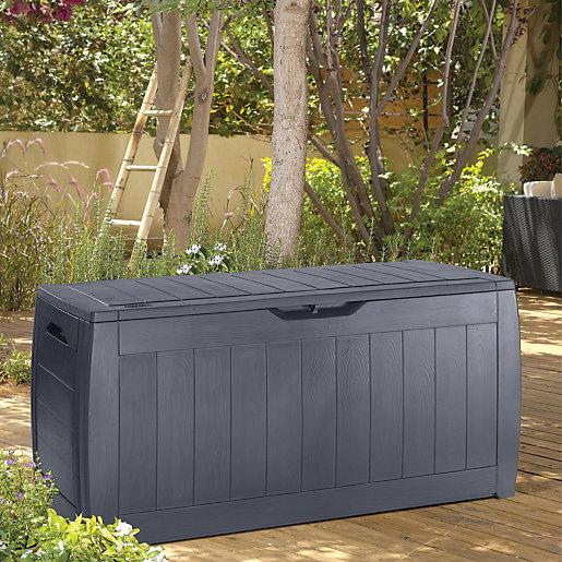 Keter Hollywood Patio Storage Box Anthracite £20 c&c @ Wickes