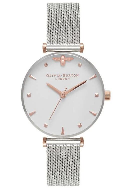 Charles fish - Olivia Burton watches e.g Queen bee mesh bracelet watch £72.50
