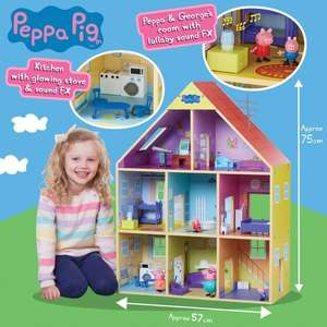 Peppa Pig Wooden Playhouse £50 instore @ Morrisons Newquay