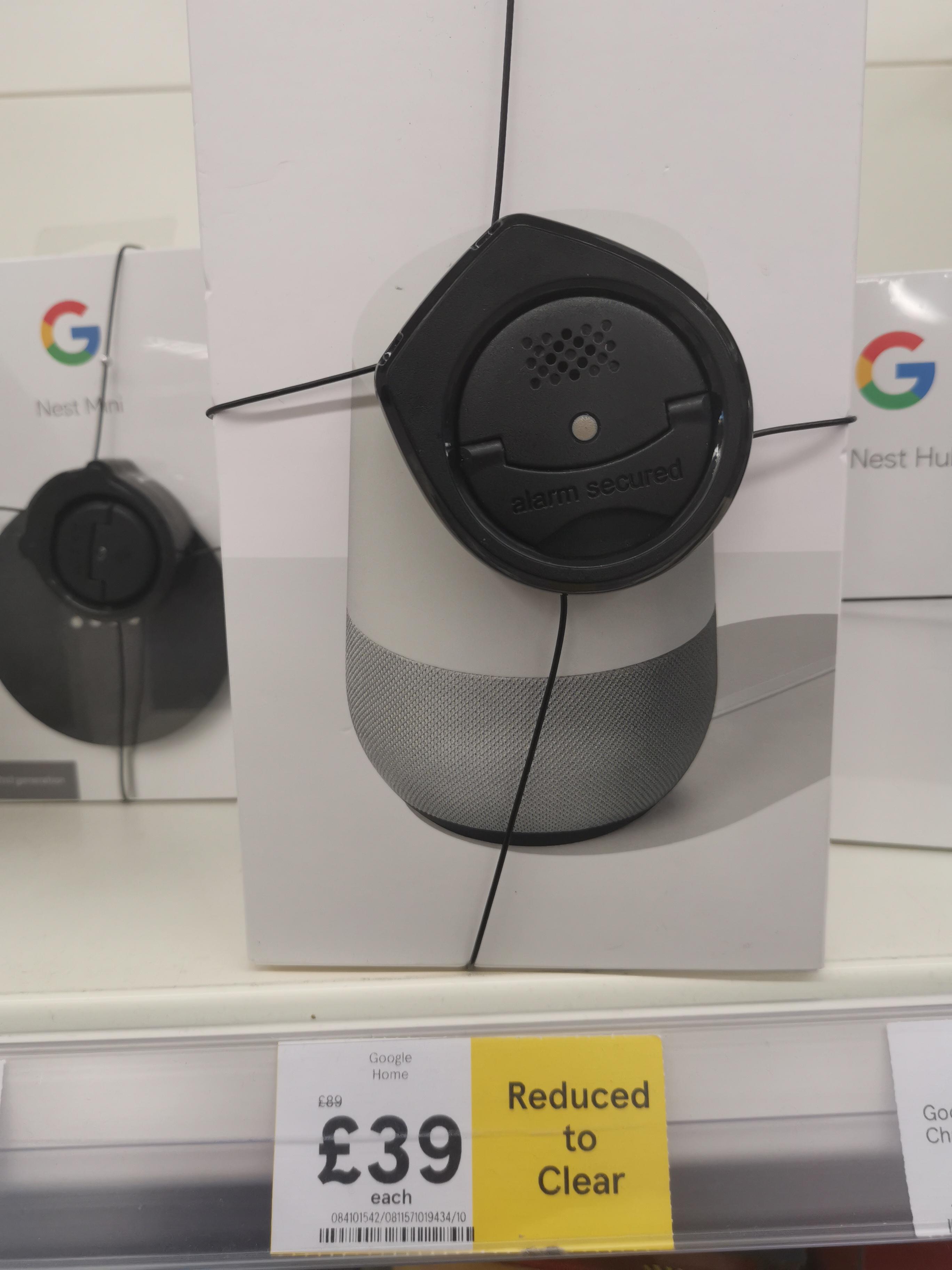 Google Home £39 instore @ Tesco (Faversham)