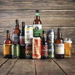 12 x Craft Beers With Free Glass £12 delivered @ Brew Republic