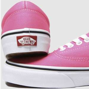 Pink Era Vans £24.99 (students extra 10% off & free click & collect) @ Schuh