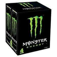 Monster Energy Drink 4 x 500ml can packs are £3 @ One Stop