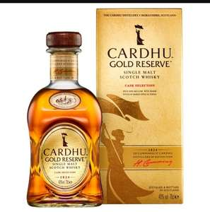 Cardhu Gold Reserve Single Malt Scotch Whisky 70cl £25 @ Ocado