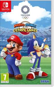 Nintendo Switch Mario & Sonic at the Olympic Games Tokyo 2020 £31.99 With code @ Currys PC World