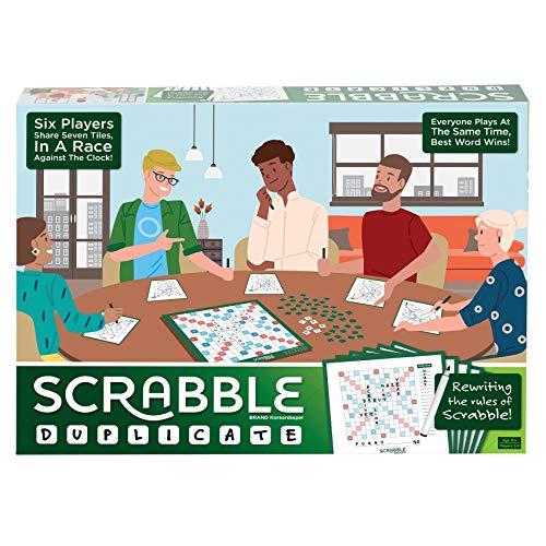 Mattel Games Scrabble Duplicate £12.99 (Prime) + £4.49 (non Prime) at Amazon