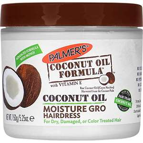 Palmer's Coconut Oil Formula Moisture-Gro Conditioning Hairdress 150g - £2 each (3x min. quantity) - £6 Prime / +£4.49 non Prime @ Amazon