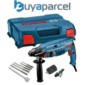 Bosch GBH225D 240v SDS+ SDS Plus Rotary Hammer Drill + SDS Bits Chisel + Chuck £99.99 delivered at buyaparcel-store eBay